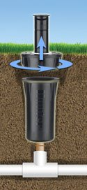 How To Replace A Pop Up Irrigation Spray Head Sprinkler School