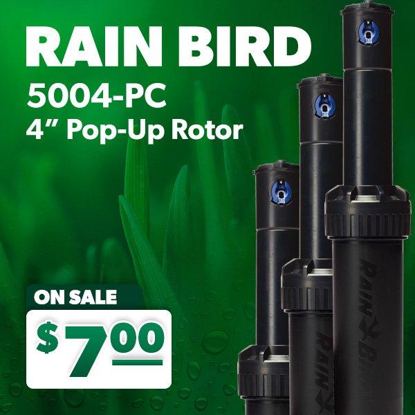 "Rain Bird 5000 Series Pop-up 12/"" Rotor—Full Circle— New Old Stock—"